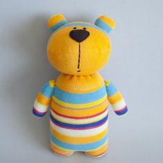 Cutest sock bear