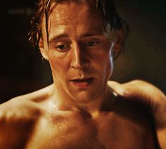 Dangerous video of Tom Hiddleston may ruin your life http://britsunited.blogspot.com/2014/01/video-of-tom-hiddleston-shirtless-and.html