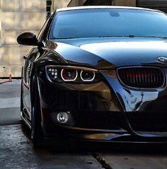Best Sports Cars : Illustration Description BMW E92 3 series black