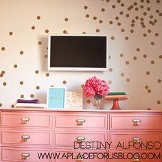 Confetti Polka Dots Wall Decal