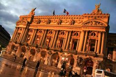 PARIS - Palais Garnier - fuievouvoltar.com
