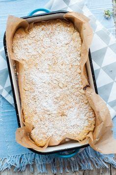 Cytrynowe ciasto z ricottą i migdałami