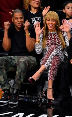 Jay-Z and Beyonce aka King and Queen of America