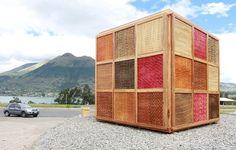 """Projetos que valorizam a cultura local, we love! // """"Cubo de Totora"""" no Equador: fortalecendo a identidade local com um projeto flexível"""