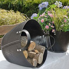 TIRE BASKET upcycling Korb aus LKW-Reifen #upcycling #arshabitandi #garten #blumenkorb