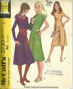 Vintage Sewing Pattern McCall's 2730, via Flickr.