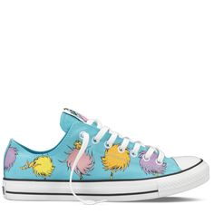 Converse Chuck Taylor Dr Seuss- The Lorax Sneakers. These are so badass.