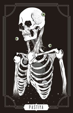 skull by dd pastilla Daniel D R, via Behance