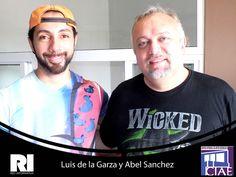Luis de la Garza y Abel Sanchez