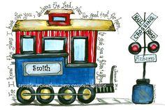 Train Caboose - Part 3 of Train Set