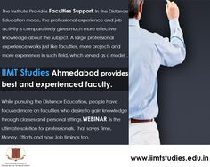 IIMT's teachers taking education to next level through Webinar International Institute of Management and Technical Studies (IIMT) is an internationally recognized institute of distance education. The institute believes that those who are willing to learn should be motivated and facilitated to pursue their dreams. IIMT Studies has been providing excellent educational facilities to its students for many years. What has made IIMT Studies better from those among its league is its excellent…