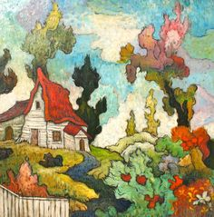 """Melting Heat II"" By Mark Briscoe Oil on Board"