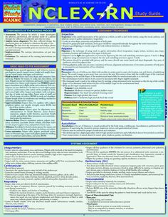 NCLEX - RN Study Guide is beneficial for any nursing student or professional. #Nursing #NCLEX