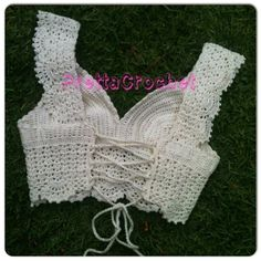 Pretta Crochet: Cropped Princess