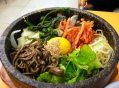 Korean Bibimbap Recipe - Asian Food Recipes