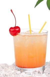 Italian Maragarita. Two guest ingredients - amaretto, sweet and sour mix!