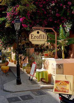 Scene in October from the Greek island of Crete