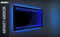 Зеркало с эффектом бесконечности Infinity Mirror | INDYCRAFT