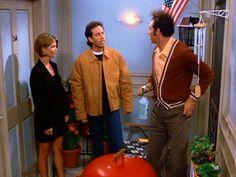 Kramer gets the Costanzas screen door.  sc 1 st  Pinterest & The Serenity Now) - Kramer installs the screen door outside his ...