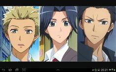Kaichou wa maid sama three idiots