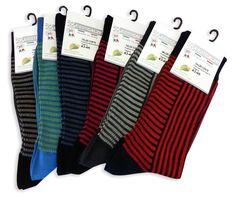 Man socks filo scozia, mercerized cotton jacquard - Calze corte da uomo jacquard in filo di scozia, 6 paia
