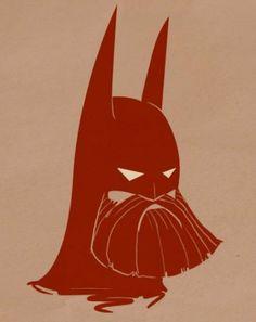 Personagens de Desenho Animado com Barba batman 476x600 Personagens de Desenho Animado com Barba