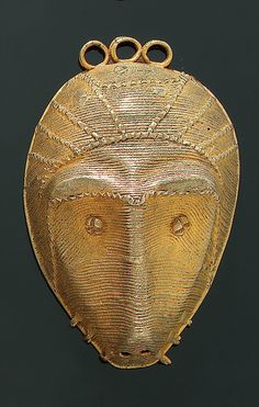 Africa | Pendant from the Akan people of Ghana or the Ivory Coast | Gold alloy; ca 4k gold | Est. 4,500 - 5,000CHF (June/05)