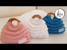 See related links to what you are looking for. Crochet Barbie Clothes, Doll Clothes, Barbie Knitting Patterns, Barbie Accessories, Freeform Crochet, Crochet Purses, Crochet Videos, Knitted Bags, Crochet Gifts