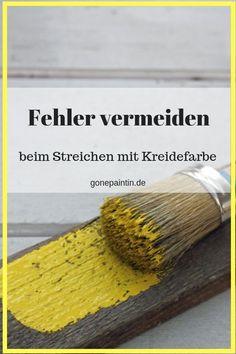 kreidefarbe streichen fehler vermeiden shabbychic malen mobel mit kreidefarbe streichen