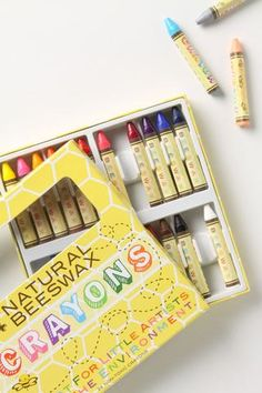3. 3rd top product wish.  Natural Beeswax Crayons #findlittlefox #mothersday