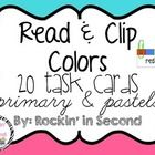 These cards are terrific for Read  Math Centers – A Hands-On Activity your students will love!  Read  Clip Cards allow students to practi...