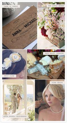 invite and flower box