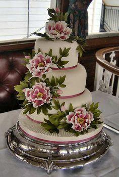 wedding cakes: The lynne cake