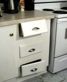replacing a drawer slide - Kitchen Drawer Slides