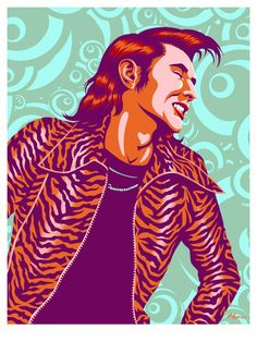 Bryan Ferry of Roxy Music Jh Logo, Holographic Paper, Roxy Music, Print Release, Music Images, Star Art, Print Artist, The Hamptons, Painting & Drawing