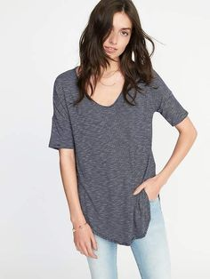 b28add6df75 Old Navy Relaxed Luxe Slub-Knit Tunic for Women