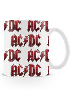 Caneca AC/DC | Uma loja de caneca  #rock #canecas #heavymetal #acdc #rocknroll #canecas #musica #bandas