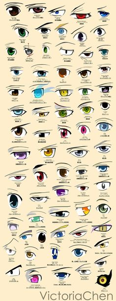 anime_eyes_poster__colored__by_victoriachen