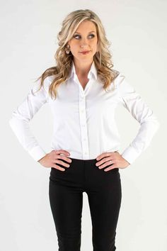 d470701a 20 Best White Button Down Shirt images | Classy outfits, Clothing ...