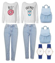 """""""Best friend outfit"""" by paulinanicole ❤ liked on Polyvore featuring Topshop and rag & bone"""
