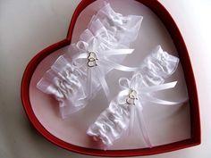 NEW Sexy White On Wedding Garter SELECT SingleSetRegPlus Size Charm