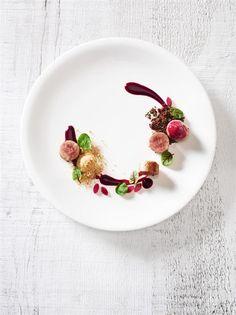 nourriture plaisir des yeux avant tout, art d'organiser et de présenter les aliments dans une assiette