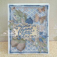 Beautiful card from Amy Voorthuis. <3  #card #cardmaking #cardinspiration #papercraft #papercrafting #papercrafts #scrapbooking #majadesign #majadesignpaper #majapapers #inspiration #vintage