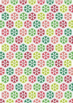 Christmas Paper Wallpaper - Beautiful Christmas Paper Wallpaper , Rainbow Snowflakes by Papercrafts Inspirations Papel Scrapbook, Printable Scrapbook Paper, Printable Paper, Mickey Christmas, Christmas Paper, Christmas Snowflakes, Christmas Design, Merry Christmas, Xmas