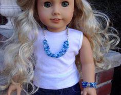 Mehrfarbigen Howlith Perlen Schmuck set für von BFFandMEJewelry