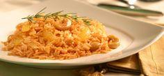 Deliciosa e diferente receita de arroz com páprica e laranja para alegrar seus dias e fazer sua família fugir da rotina do arroz com feijão todos os dias.