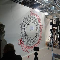 """""""#Gep #gepcalligraphy #mandala #timerecords"""""""