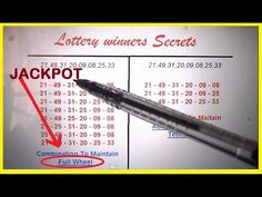 The Lottery Winners Secrets That No One Will Told You!