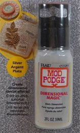 Mod Podge ® Dimensional Magic - Glitter Silver, 2 oz.