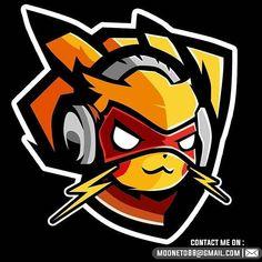 Cool art · l o g o s p o r t ( Logo Esport, Art Logo, Pokemon Logo, Sports Team Logos, Game Logo Design, Esports Logo, Gaming Wallpapers, Logo Sticker, Logo Design Inspiration